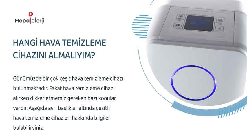 Hangi hava temizleme cihazını almalıyım?